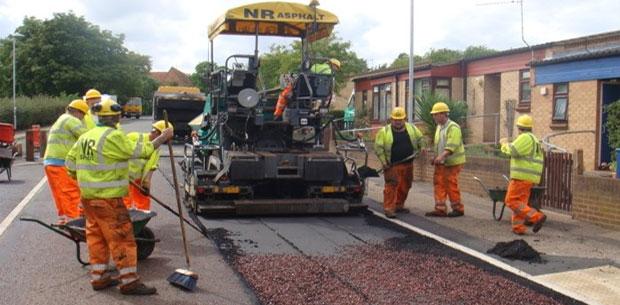 Process in Bituminous Road Construction - CivilArc